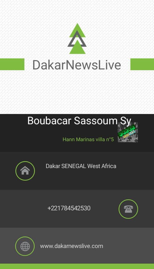 Dakar News live Head Office