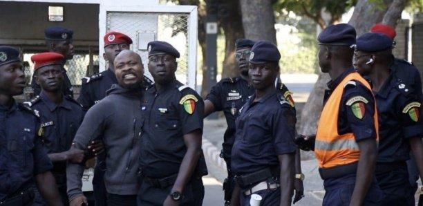 Arrestation de Guy Marius et Cie Leurs camarades exigent une libération immédiate