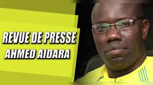 Revue de presse Wolof de zik fm avec Ahmed Aidara du mardi 24 Décembre 2019