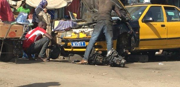 Dalifort : Les ateliers de mécaniciens rasés