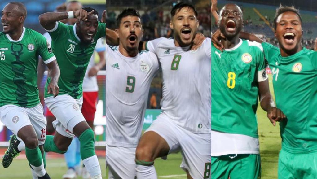 Algérie, Sénégal et Madagascar, les trois nations phares de 2019