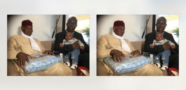 Photos : Jules Ndéné baptise son fils au nom d'Abdoulaye Wade Ndiaye