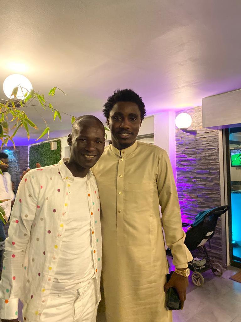 l'incontournable Boy Dakar ,le Faramaren Waly Senegal avec son AMI intime SOULEYEMANE THIAM