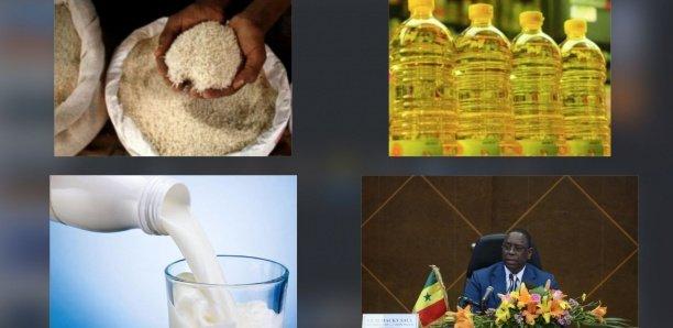 Les prix de l'huile, du riz et du lait flambent