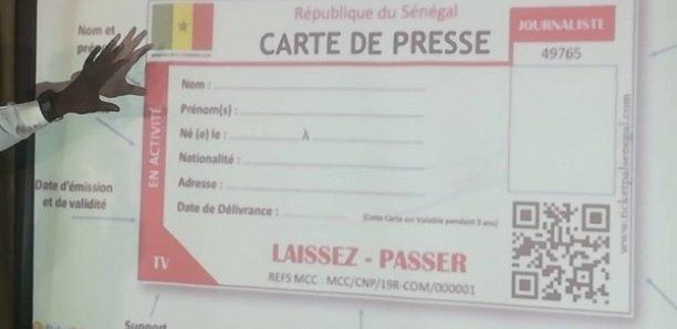 [Document] Commission de la carte nationale de presse: Voici la liste des membres