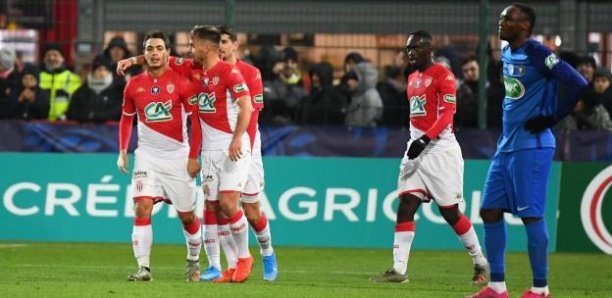 Coupe de France : Monaco facile vainqueur, Diao Baldé s'offre un doublé