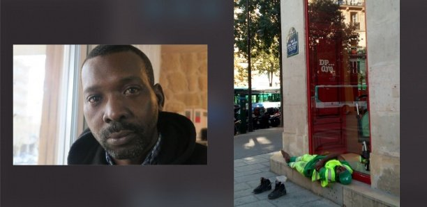 Photographié à son insu pendant une pause, l'agent de propreté Adama Cissé est licencié