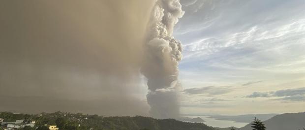 Éruption du volcan Taal, vers une éruption explosive ? vers un impact mondial ?