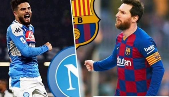 Naples / Barça: Messi dans le jardin de Maradona