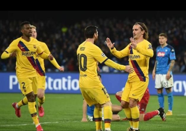 Ligue des Champions: Le Barça arrache le nul à Naples (1-1)
