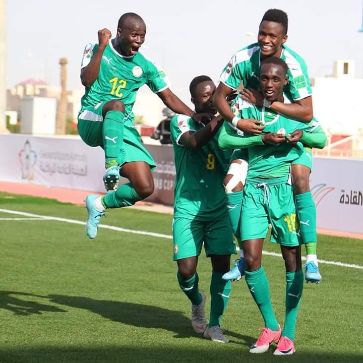 Coupe arabe (U20): Le Sénégal méne à la pause devant le Soudan (3-0)