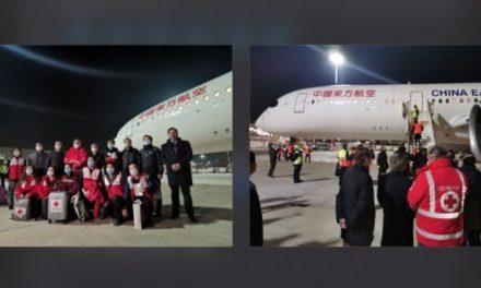 Coronavirus : Arrivée d'experts chinois à Rome et de plusieurs tonnes d'aide