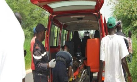 Grave accident à Thiès : un mort et 19 blessés dont 4 dans un état grave