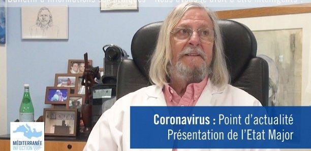 Coronavirus : Pr Didier Raoult fait le point