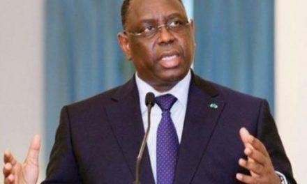 Coronavirus: Macky appelle ses concitoyens au calme et à la sérénité après l'annonce …