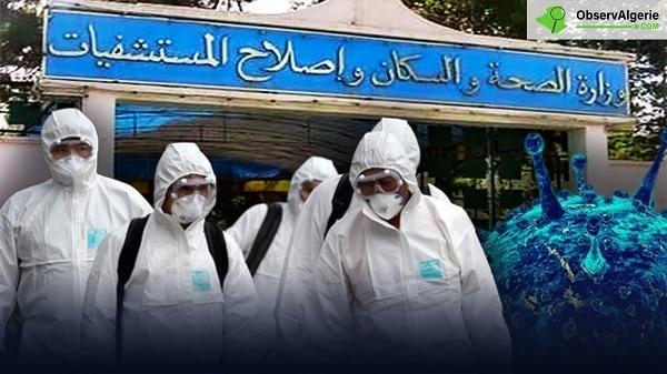 Coronavirus: 16 membres d'une même famille contaminés en Algérie
