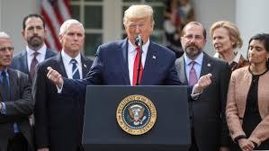 Covid 19 aux USA : Trump déclare l'état d'urgence