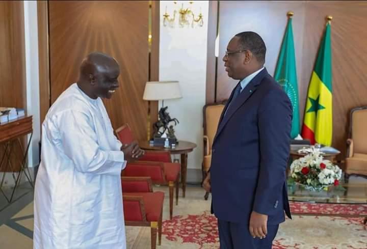 Idrissa Seck à Macky Sall : « Ma présence indique mon adhésion »