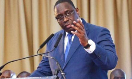 Coronavirus : Macky Sall contre les rassemblements inutiles