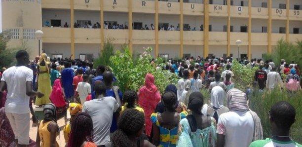 Lycée de Mbacké : Le Covid 19 déclenche l'arrêt des cours