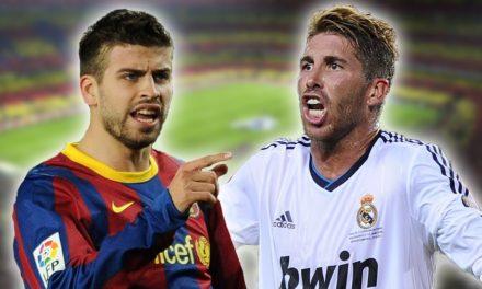 Clasico : Sergio Ramos recadre Gerard Piqué