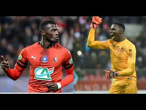 Rennes : Mbaye Niang et Edouard Mendy au chômage partiel