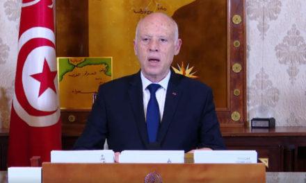 Coronavirus : Le président tunisien annonce un confinement général du pays