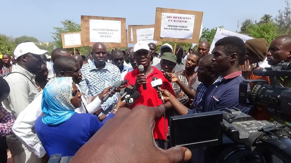 Saes en grève : La gestion de Cheikh Oumar Hanne décriée