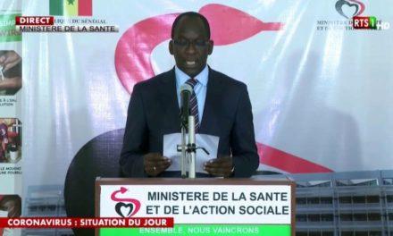 Coronavirus : 05 nouveaux cas confirmés au Sénégal