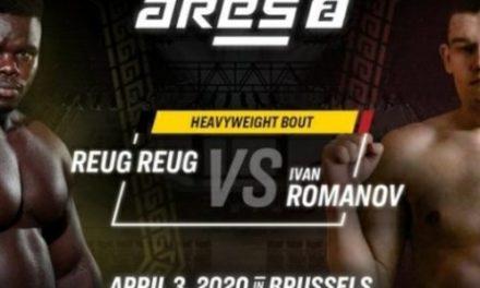 MMA : ReugReug/Romanov reporté au 30 octobre à cause du coronavirus