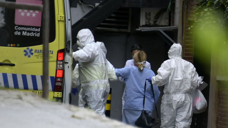 Coronavirus: 849 nouveaux morts en 24 heures, le nouveau record de l'Espagne