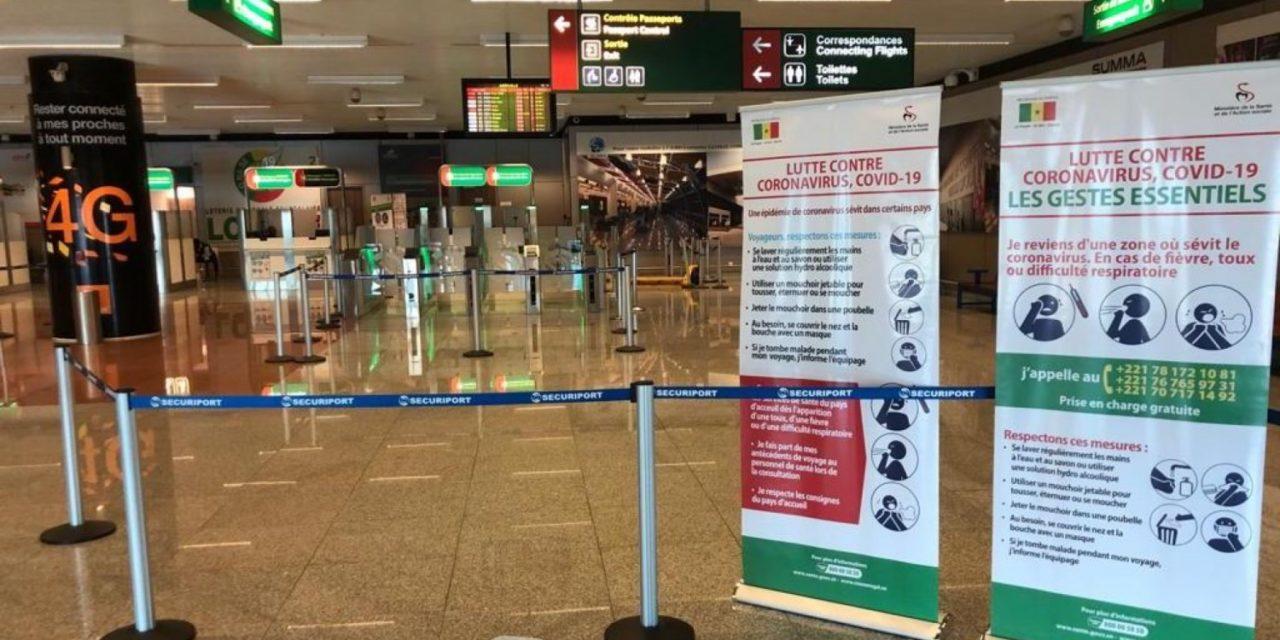 TRANSPORT AÉRIEN: Le Sénégal ferme totalement ses frontieres