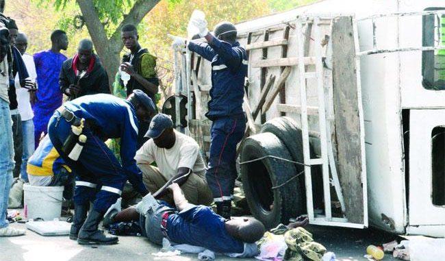 Touba : un mort et 11 blessés dans un accident de la circulation