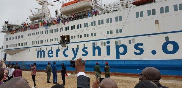Coronavirus : Le bateau-hôpital Mercy Ships quitte le Sénégal