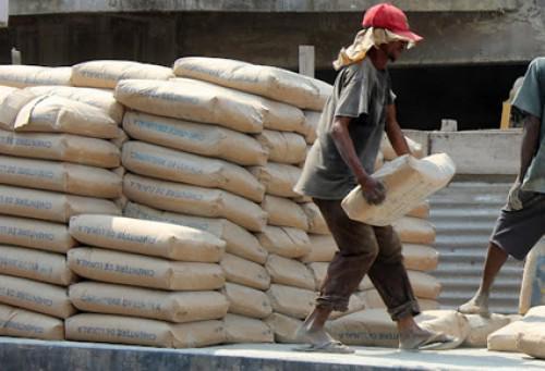 Le ministre du commerce : Les mises en garde  sur les Perturbations pour  l'approvisionnement en ciment