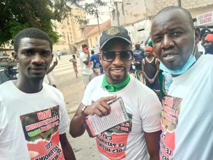 """Marche du Collectif des Jeunes de la medina pour """"bamba dégage"""""""