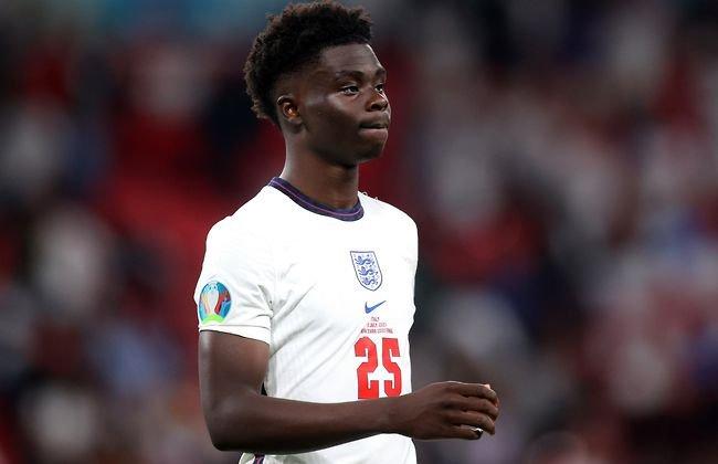 Le message fort et émouvant de Bukayo Saka après les insultes racistes en finale de l'Euro