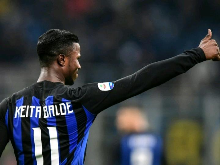 Football Mercato : Keita Baldé vers un retour à I'nter Milan .