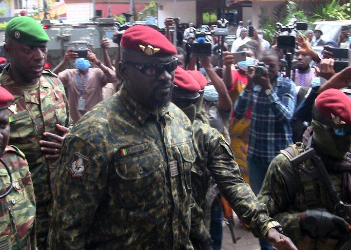 Guinée/ Colonel Doumbouya aux politiciens :« Nous n'accepterons aucun débordement, aucun désordre dans les débats»