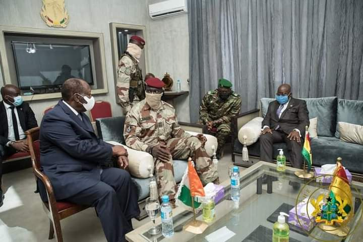 Mission de la CEDEAO en Guinée : le président du Ghana salut leur séjour et donne des nouvelles d'Alpha Condé