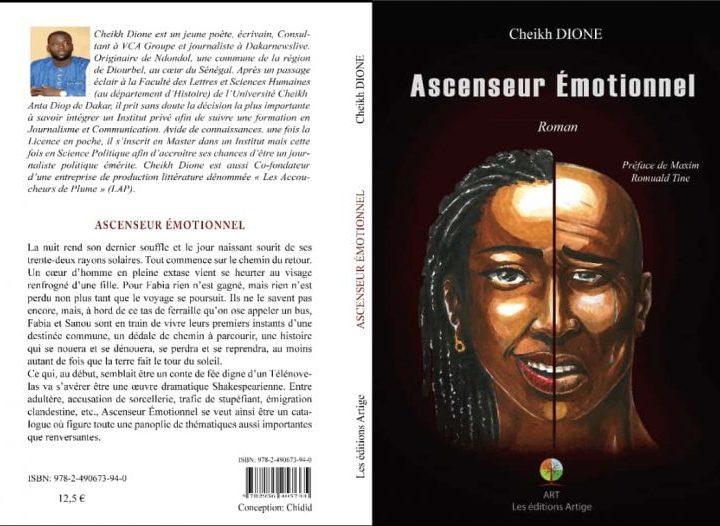 """Parution : Cheikh Dione dans """"L'ascenseur émotionnel"""""""