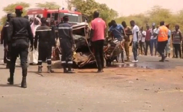 Thies :Un accident sur la route de Tivaouane fait 5 morts sur le coup